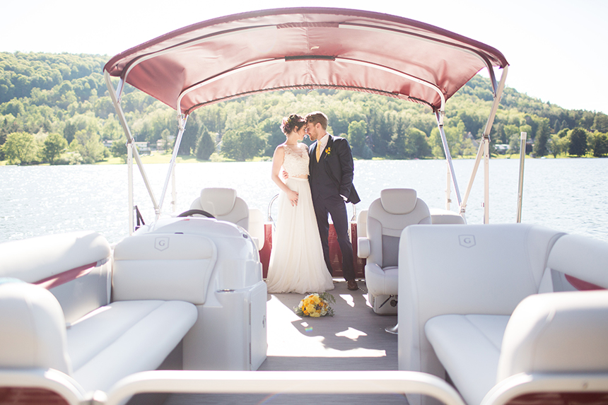 A Lakefront Wedding Social by JFP