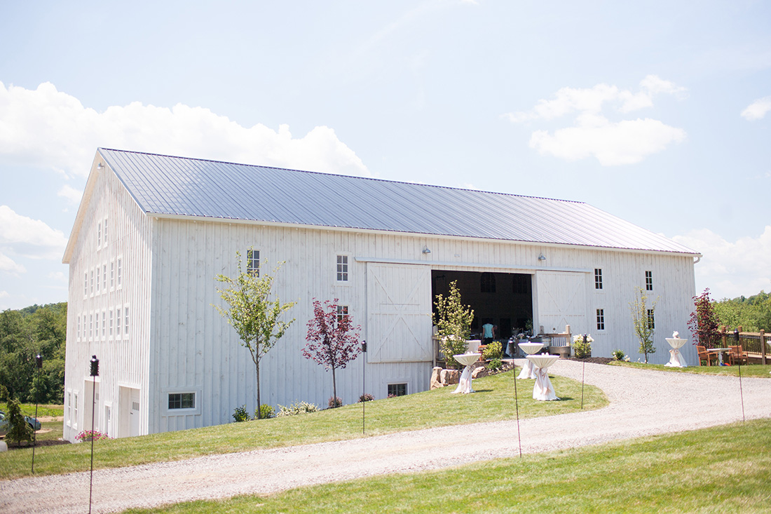 The White Barn At Lucas Farm Wedding Erika Jay Jessica Fike
