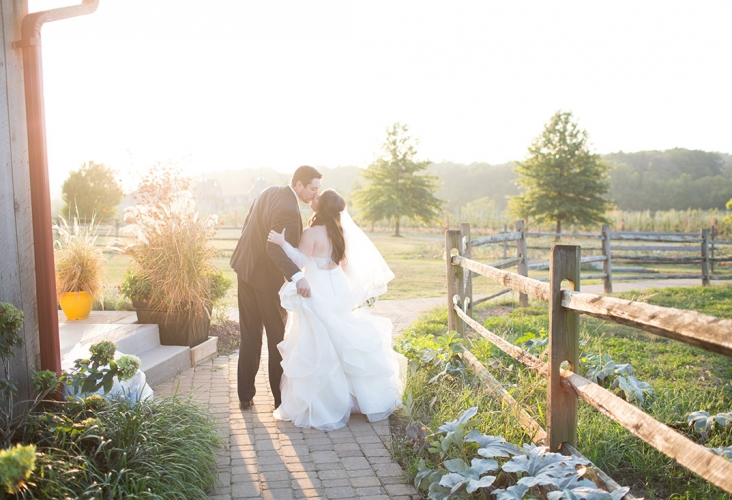 rich farms fall wedding