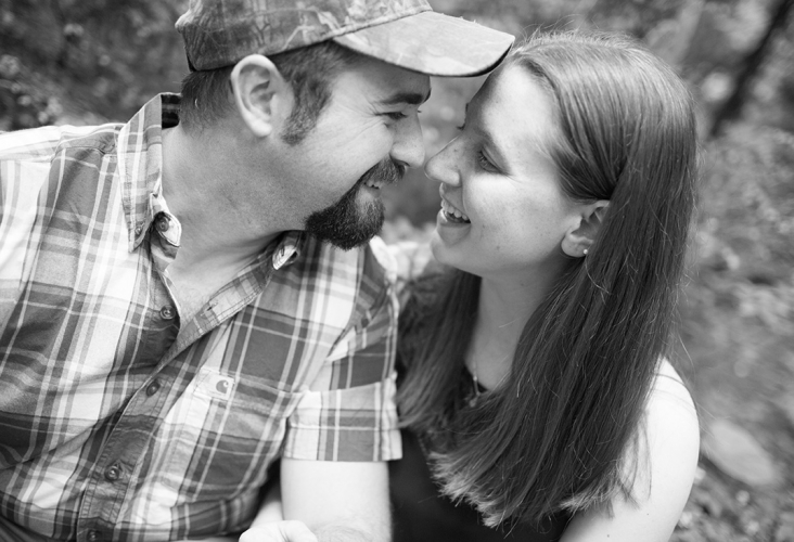 swallow falls engagement session