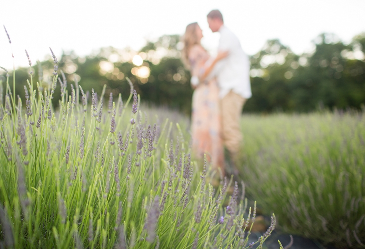 deep creek lavender farm engagement session